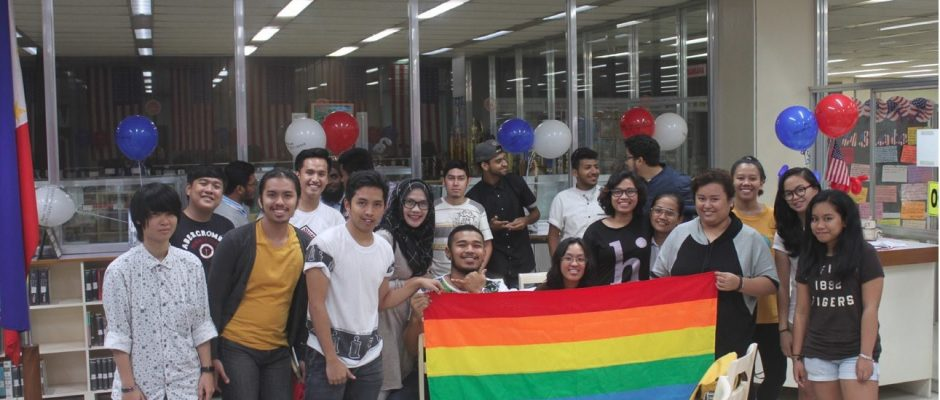ISPEC in solidarity with Muslim students during the last day of Iftar at the ASRC in the library last July 4. PHOTO BY Alyanna Kristine Adasa