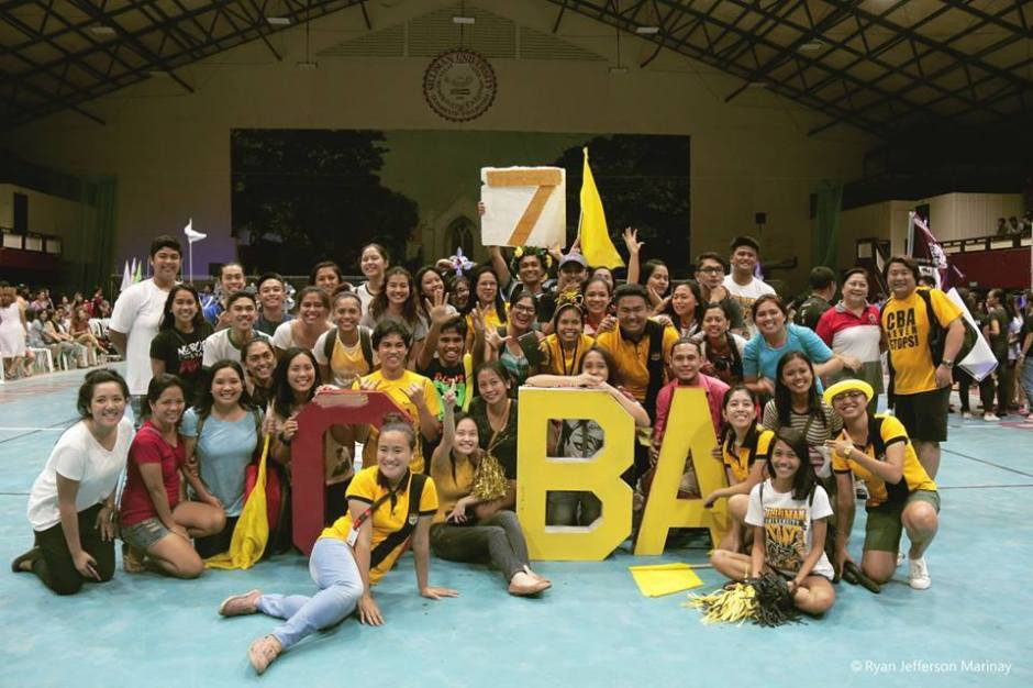 7-PEAT. The College of Business Administration reigns again as the overall champion for this year's University Intramurals. PHOTO BY Ryan Jefferson Marinay