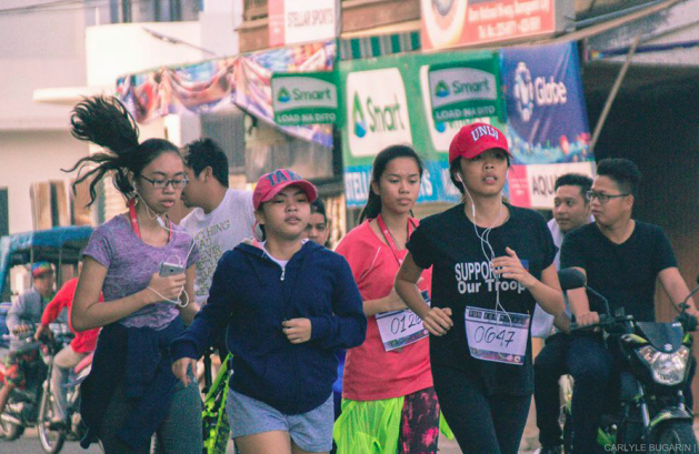 A GREATER CAUSE. Sillimanians join run for Marawi, a fund-raising event dedicated to help in the rehabilitation of Dansalan College in Marawi . PHOTOS by Carlyle Bugarin