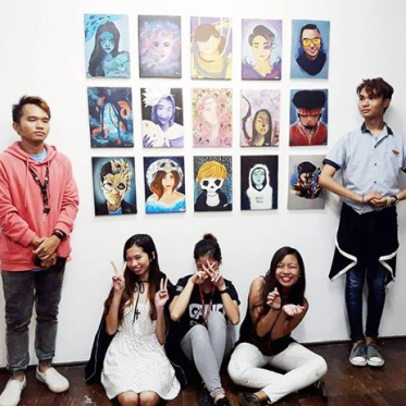 "A GROUP OF young ""undiscovered"" artists in Negros Oriental exhibited their self-portraits Nov. 17 to Dec. 1 at the Foyer Gallery of Silliman Hall."